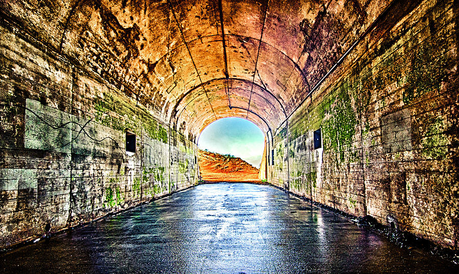 Hawk Hill Photograph - Hawk Hill Tunnel by Robert Rus
