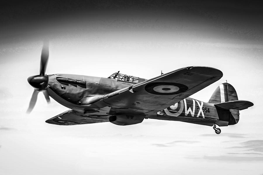 Aircraft Photograph - Hawker Hurricane by Chris Smith