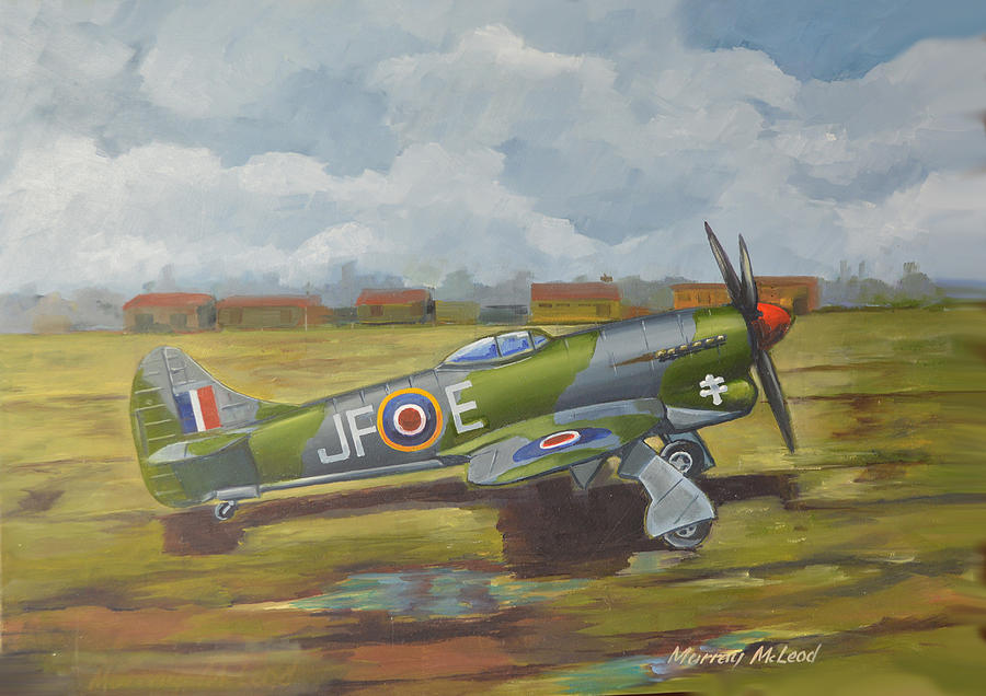 Hawker Tempest by Murray McLeod