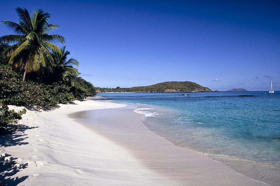 Scenic Photograph - Hawksnest Beach Scenic by George Oze