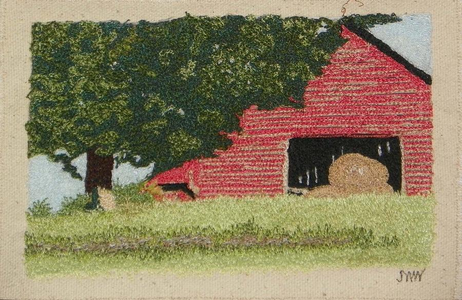 Hay Barn by Jenny Williams