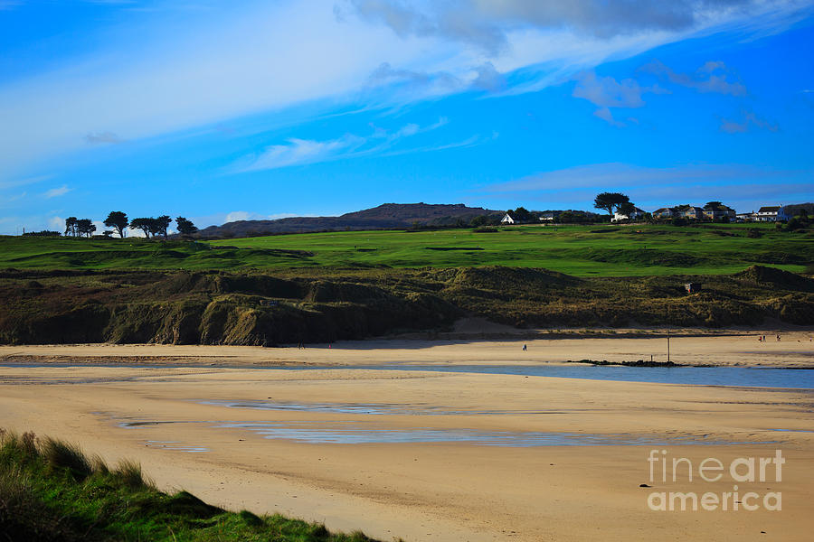 Hayle Photograph - Hayle Estuary Cornwall by Louise Heusinkveld