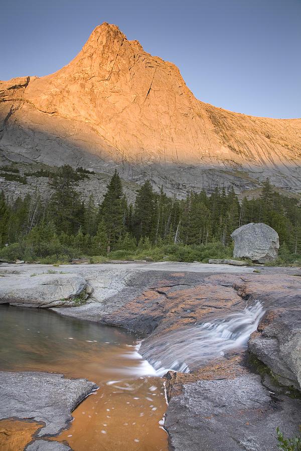 Haystack Photograph - Haystack Mountain by David Halter
