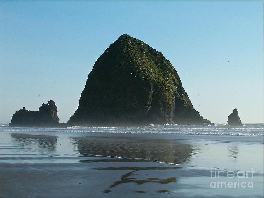Landscape Photograph - Haystack Rock by Elton Leung