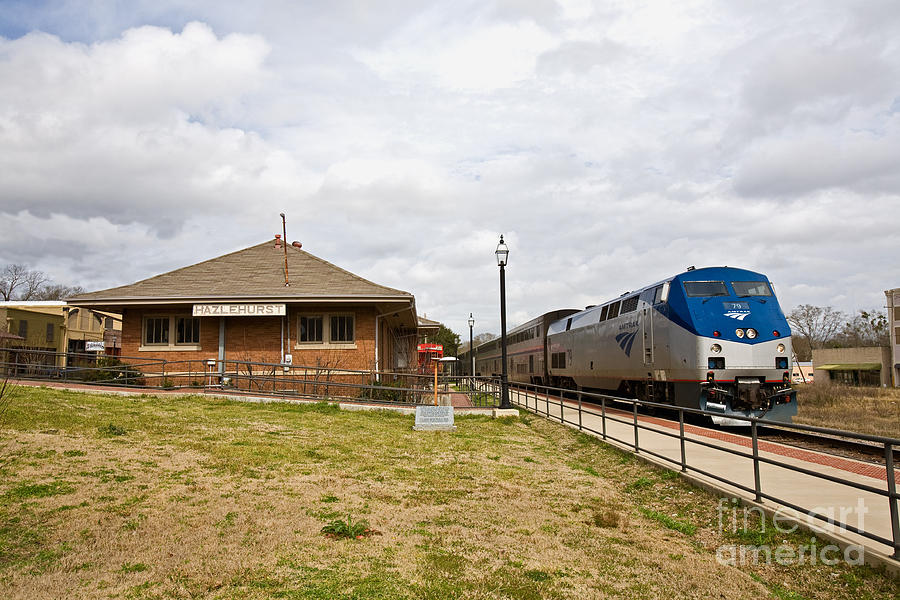 Trains Photograph - Hazlehurst Depot by Russell Christie