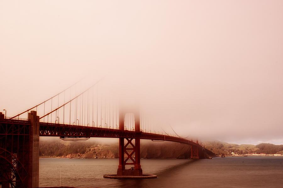 Golden Gate Bridge Photograph - Hazy Days by Chad Tracy