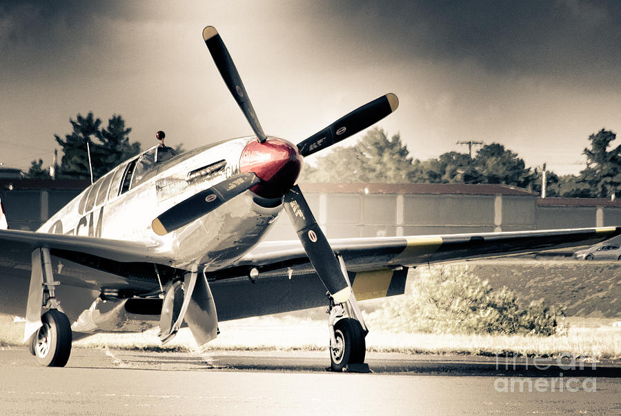 Hdr Airplane Plane Black White Vintage Aircraft Gallery Photo