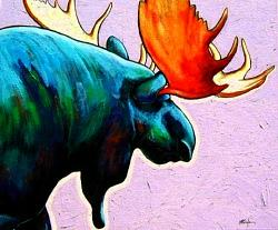 Wildlife Painting - He Answers The Call by Joe  Triano