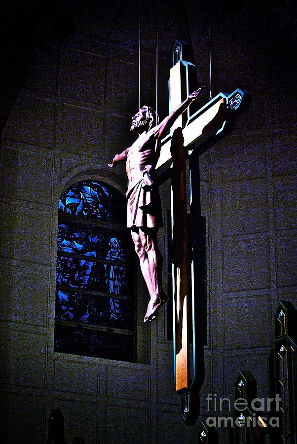 Resurrected Christ Photograph - He Has Covered Himself In Glory by Frank J Casella