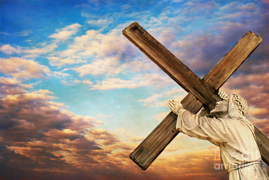 Aged Photograph - He Has Risen by Darren Fisher