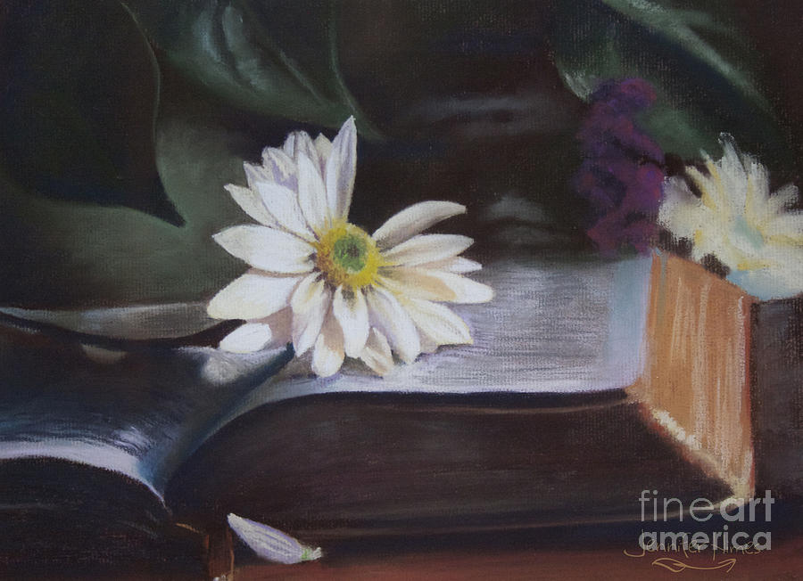 Love Painting - He Loves Me Still by Jennifer Himes