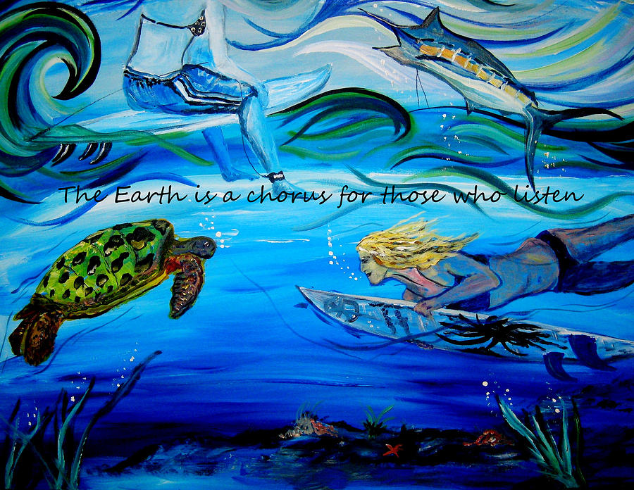 He Makes All Things New Painting by Amanda Dinan
