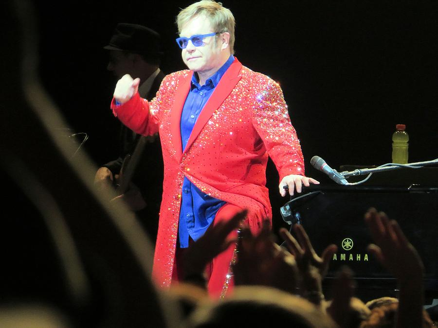 Elton John Photograph - He Still Has It by Aaron Martens