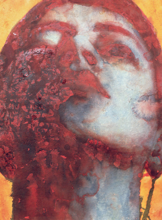 Modernist Painting - Head by Graham Dean