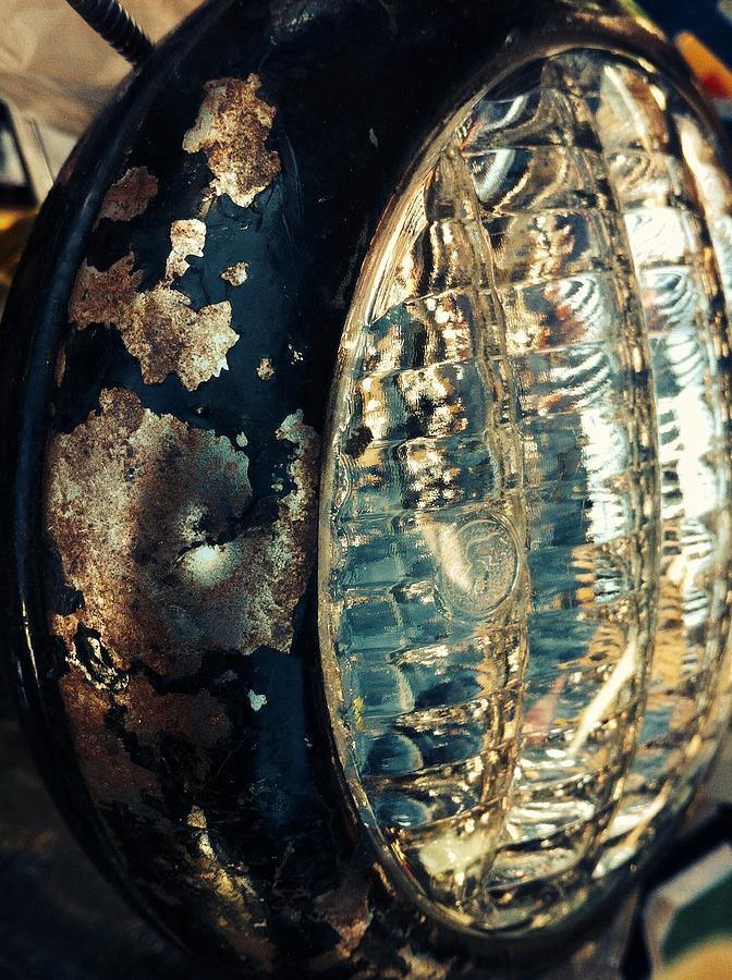 Head Light Pyrography - Head Light  by Natalya Karavay