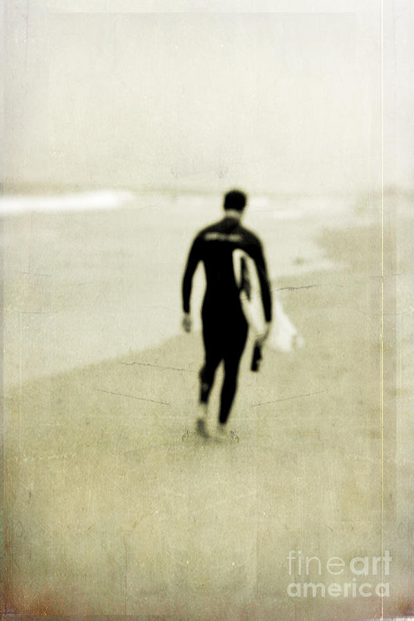Surfer Photograph - Heading Home by Scott Pellegrin
