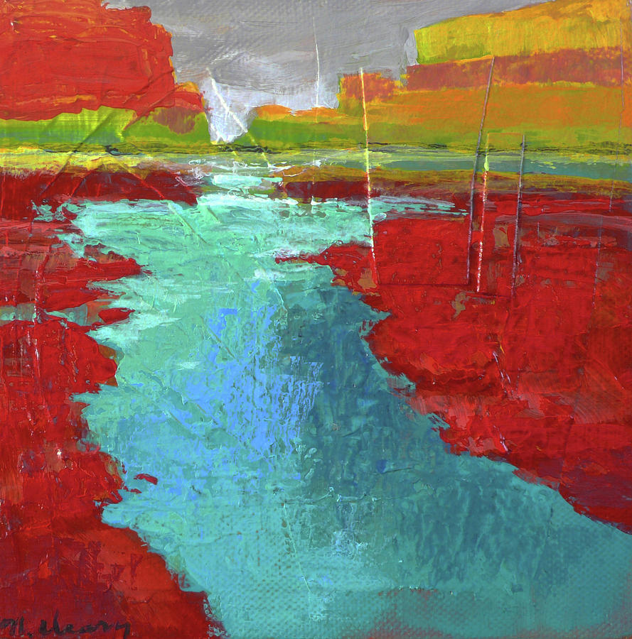 Southwest Landscape Painting - Heading West No. 3 by Melody Cleary