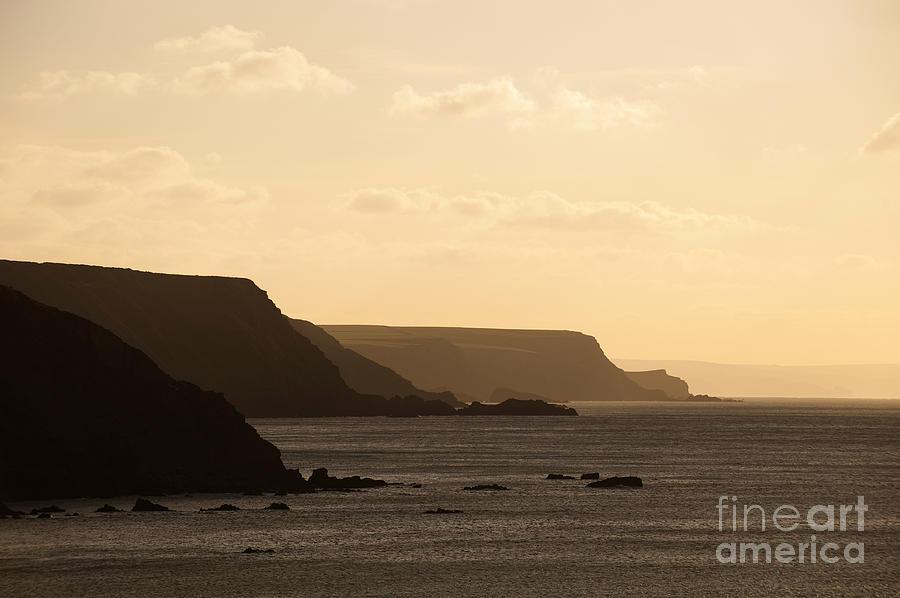 Headland Photograph - Headland by Anne Gilbert