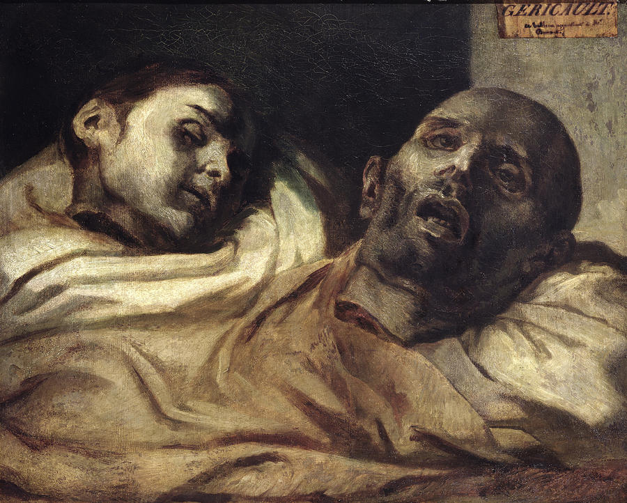 Image result for Heads Severed painting Theodore Gericault