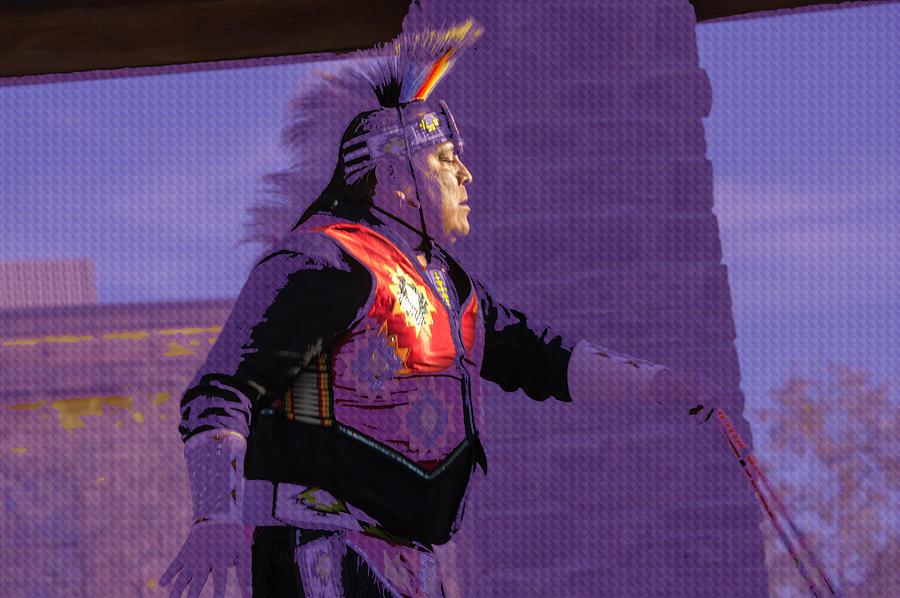 Healing Hoop Man 31 Photograph