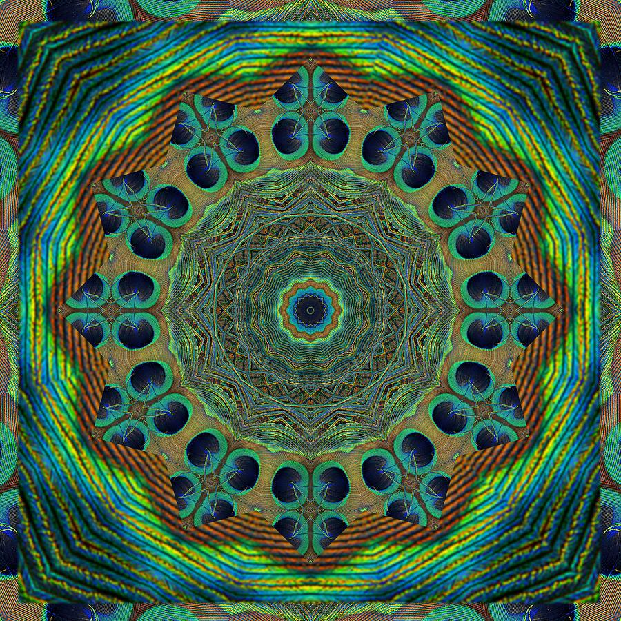 Mandalas Photograph - Healing Mandala 19 by Bell And Todd