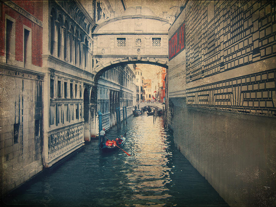 Venice Photograph - Hear The Sighs by Laurie Search