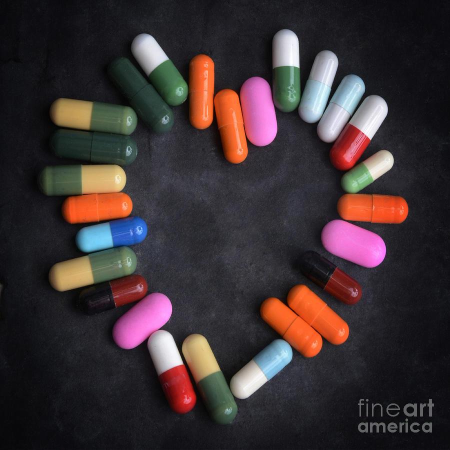 Variation Photograph - Heart Concept by Bernard Jaubert