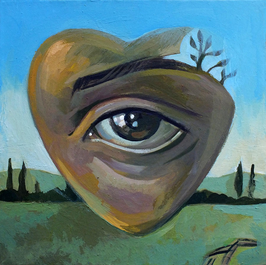 Eye Painting - heART by Filip Mihail
