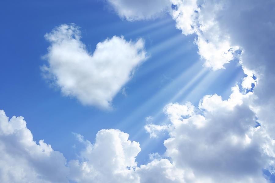 Heart In Sky Photograph by Imagedepotpro