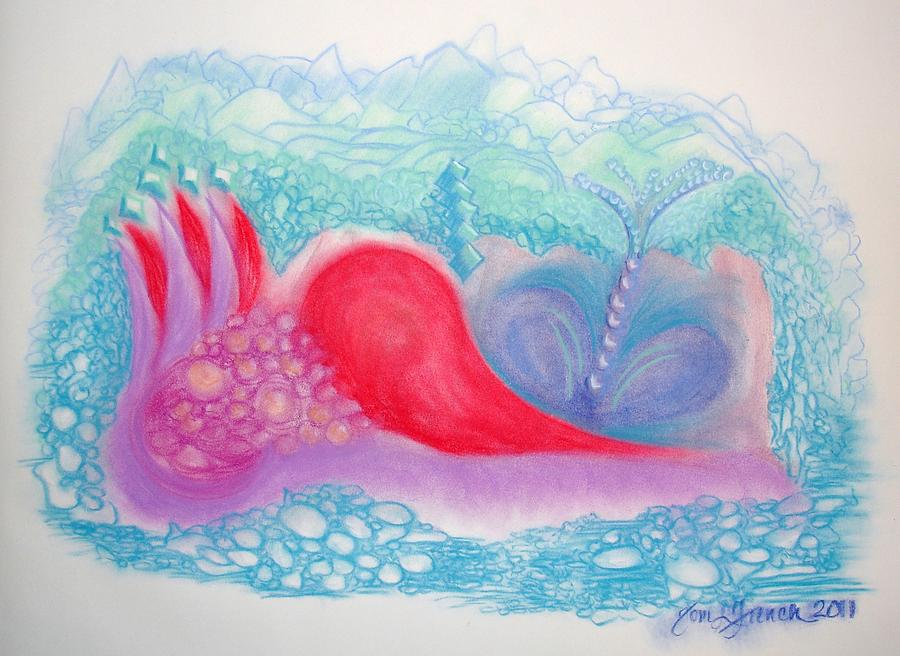 Heart Land Drawing - Heart Land by Mademoiselle Francais