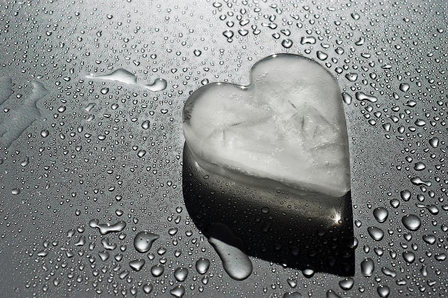 Heart Made Of Ice Photograph by Patrizia Savarese