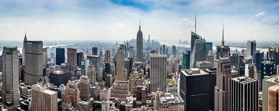 Empire State Building Photograph - Heart of an Empire by Az Jackson