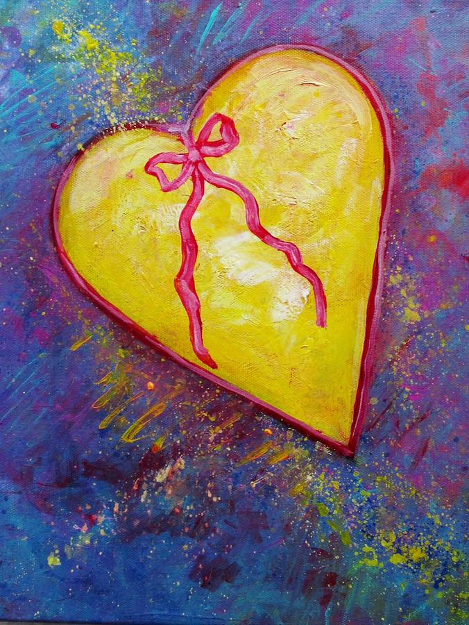 Heart Of Gold Painting