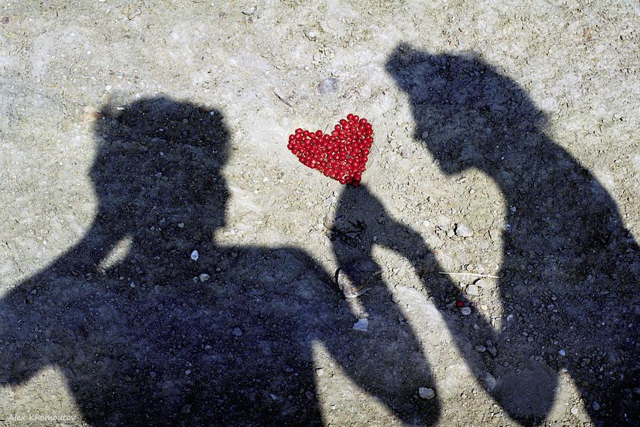 Heart Of Love And Romance Metaphysical Energy Art Print