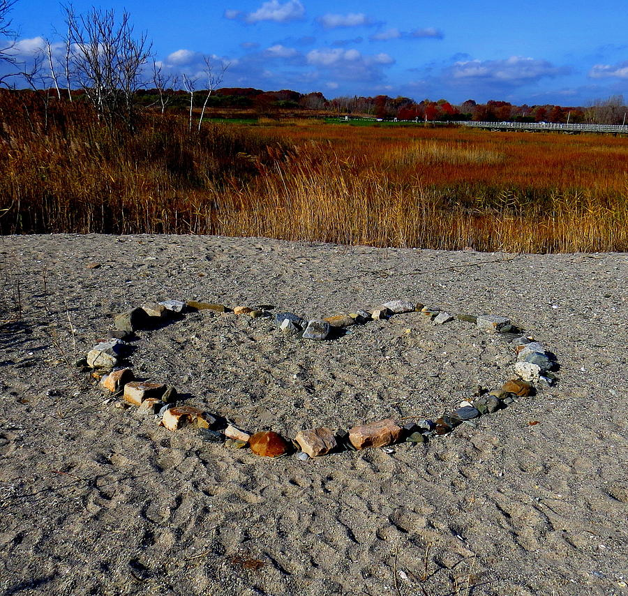 Heart Photograph - Heart Of Stone by Stephen Melcher