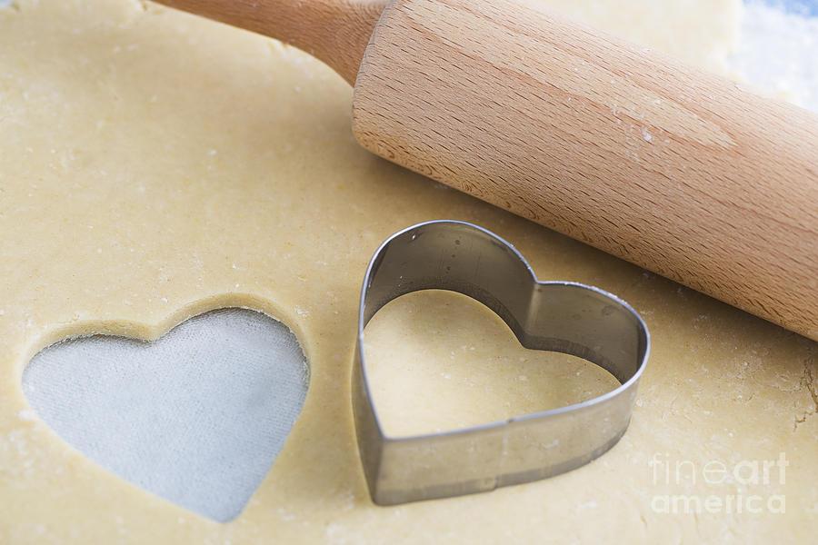 Heart Shaped Cookie Cutter Photograph