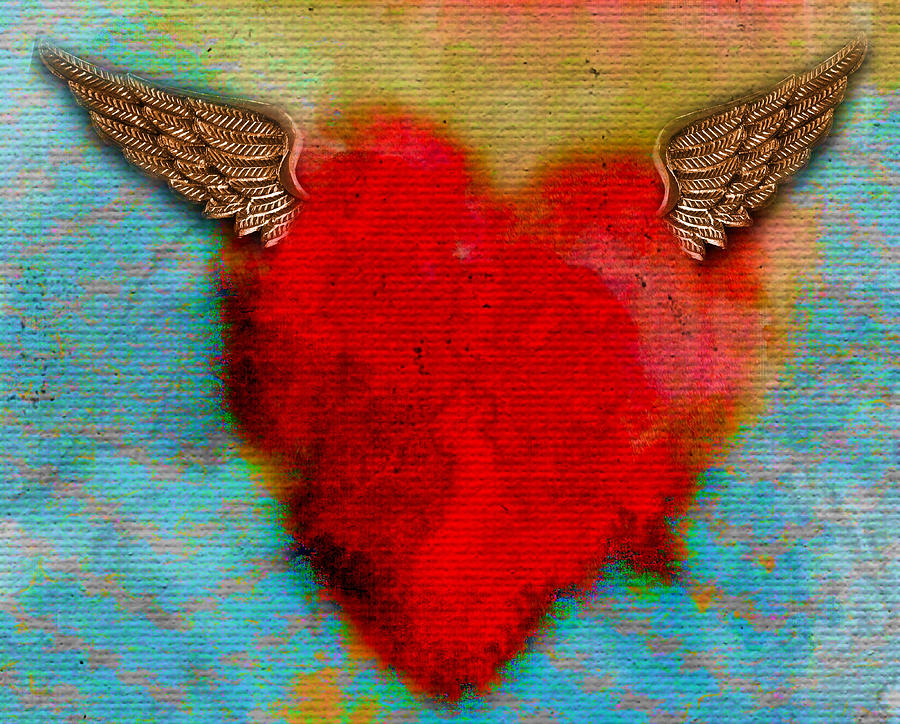 Heart Photograph - Heart Wings by Shannon Story