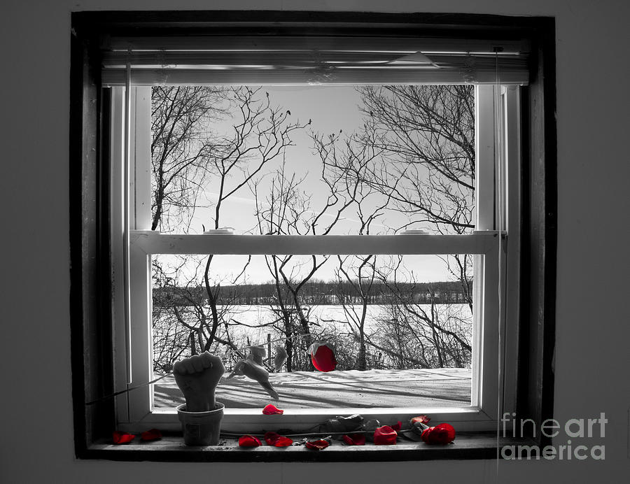 Window Digital Art - Heartbreak by Joshua Lucas