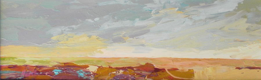 Abstract Painting - Heartland Series/southwest by Marilyn Hurst