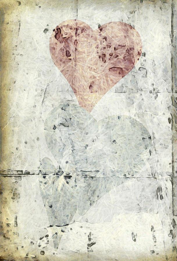 Modern Photograph - Hearts 2 by Edward Fielding