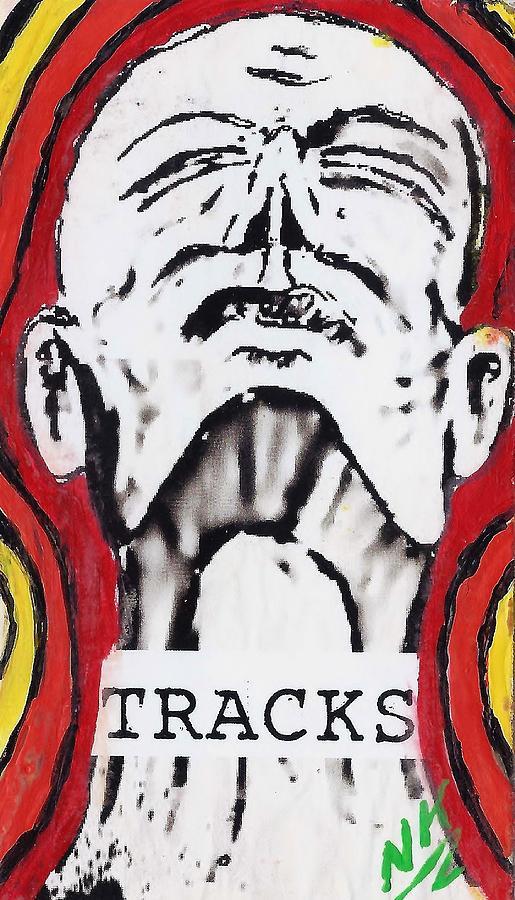 Tracks Painting - Heat Wave by Nevets Killjoy