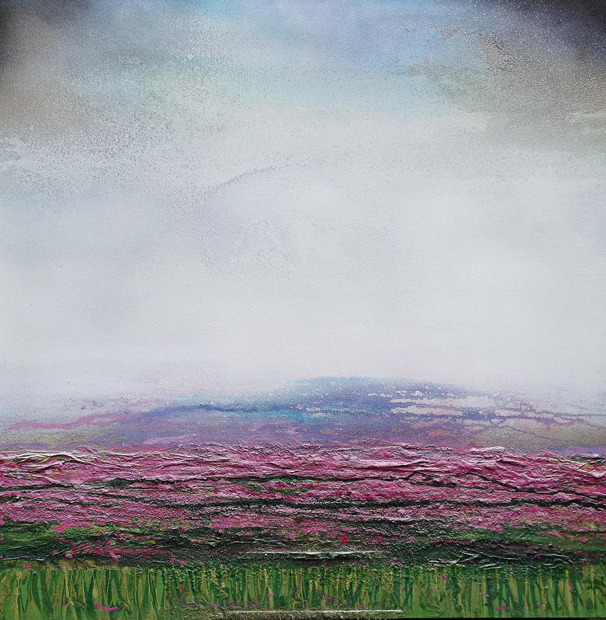 Heather  Mixed Media - Heather Redesdale 4 by Mike   Bell