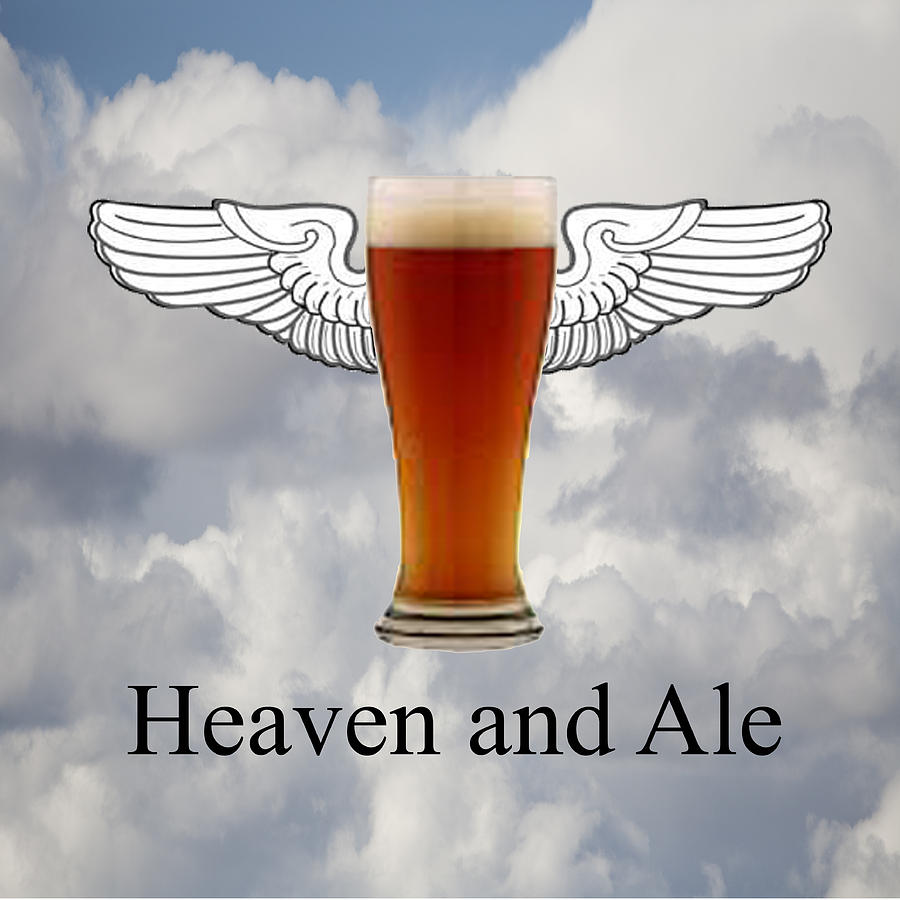 Clouds Photograph - Heaven And Ale by Gregory Scott