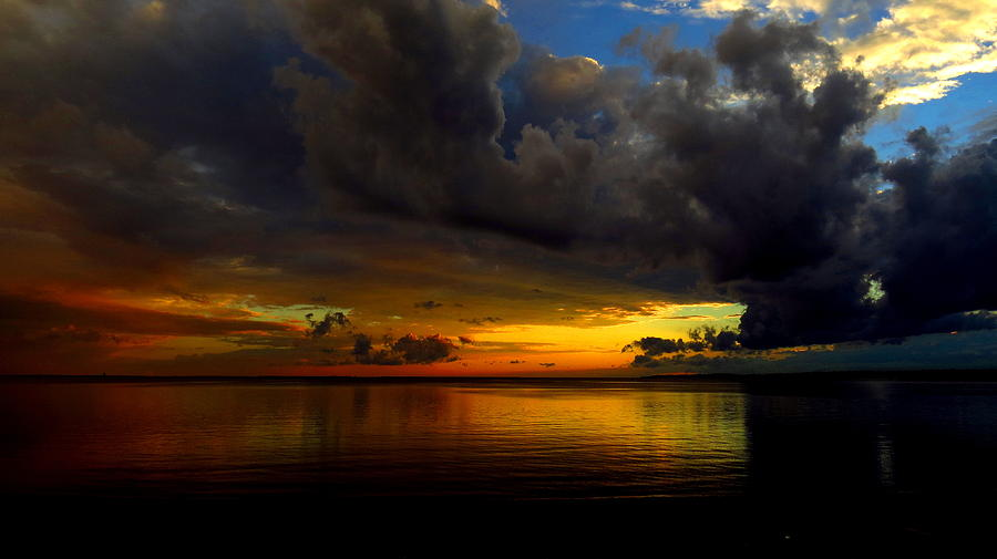 Sunset Photograph - Heaven And Hell by Stephen Melcher