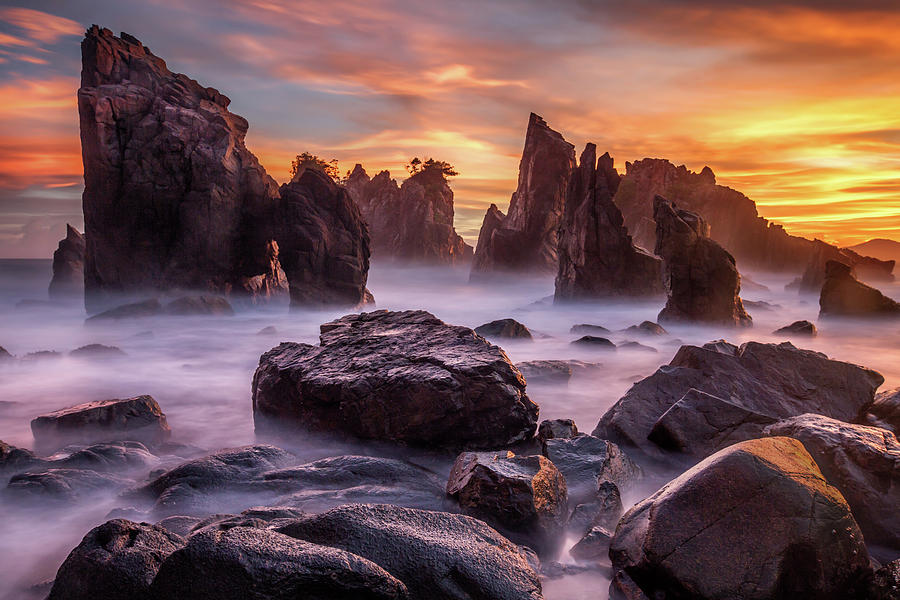 Landscape Photograph - Heaven Of Rocks by Gunarto Song