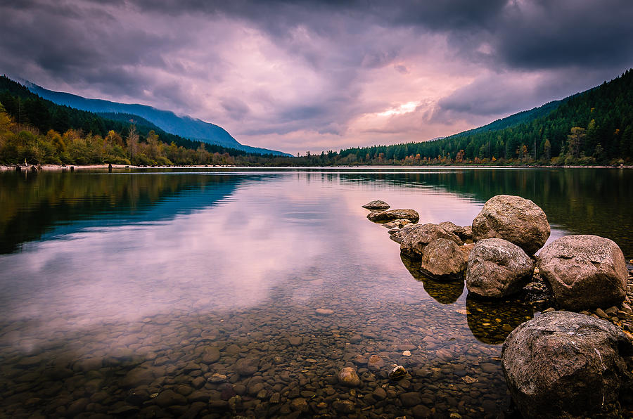 Cascade Mountains Photograph - Heaven On Earth by Brian Xavier