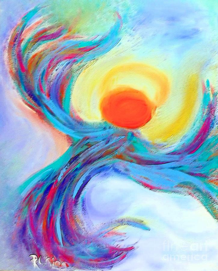 Heaven Sent Painting - Heaven Sent Digital Art Painting by Robyn King