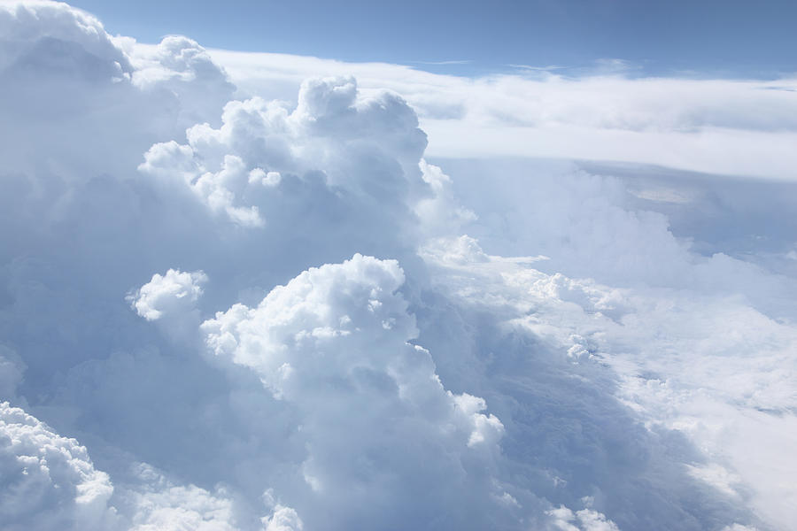 Heavenly Cloudscape Photograph by Blackred