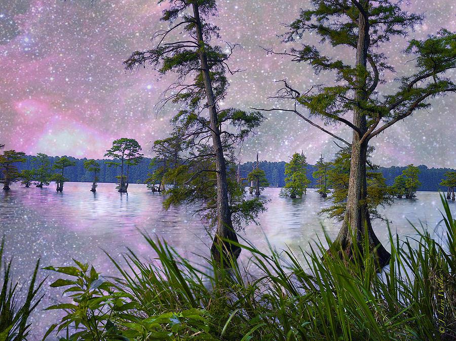 J Larry Walker Digital Art - Heavenly Sunrise by J Larry Walker