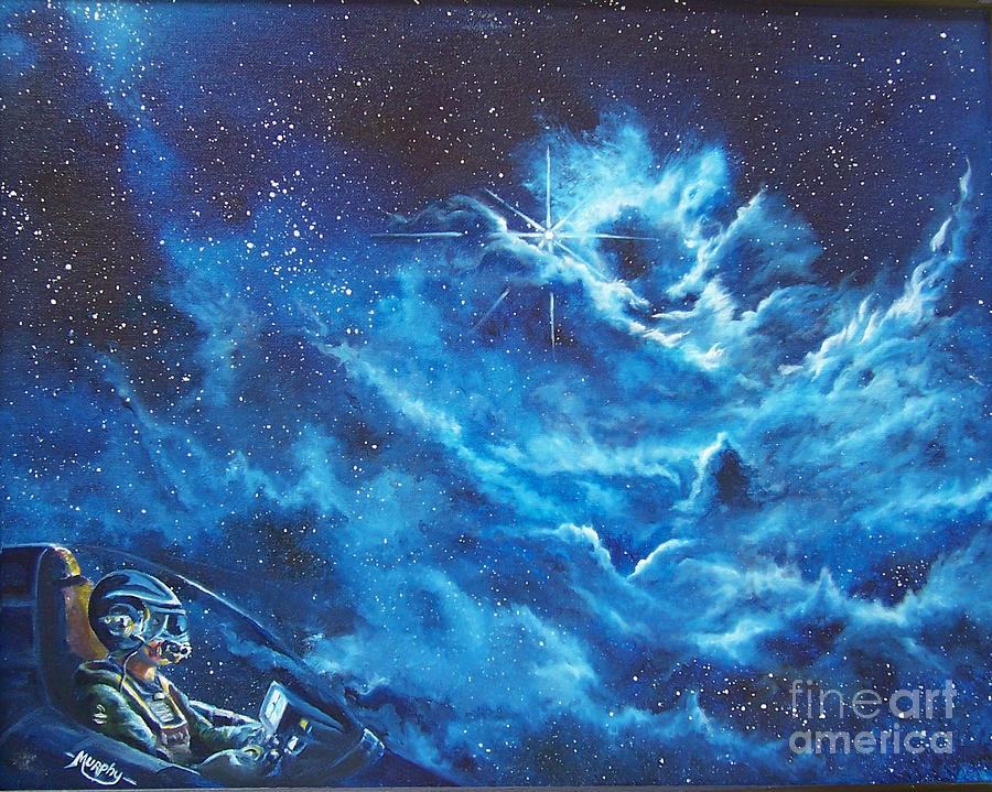 Astro Painting - Heavens Gate by Murphy Elliott